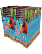 200 pc. - 7 lb. Bird Lover's Blend®  Gourmet Songbird Quad Bin