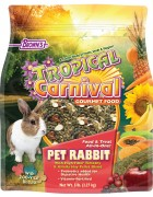 Tropical Carnival® Gourmet Pet Rabbit Food