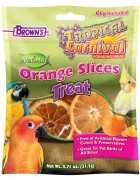 Tropical Carnival® Natural Orange Slices Pet Bird Treats