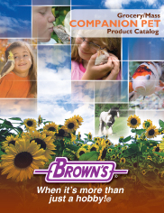 Grocery/Mass Companion Pet Product Catalog