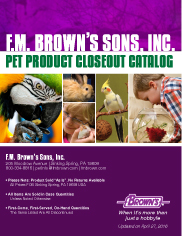 Pet Product Closeout Catalog