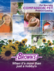 Pet Specialty Companion Pet Product Catalog