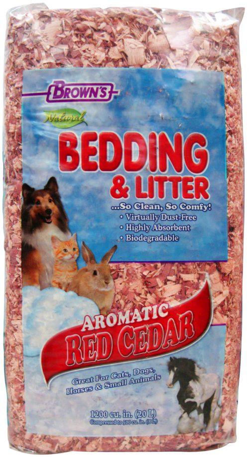 Natural Aromatic Red Cedar Bedding & Litter-0