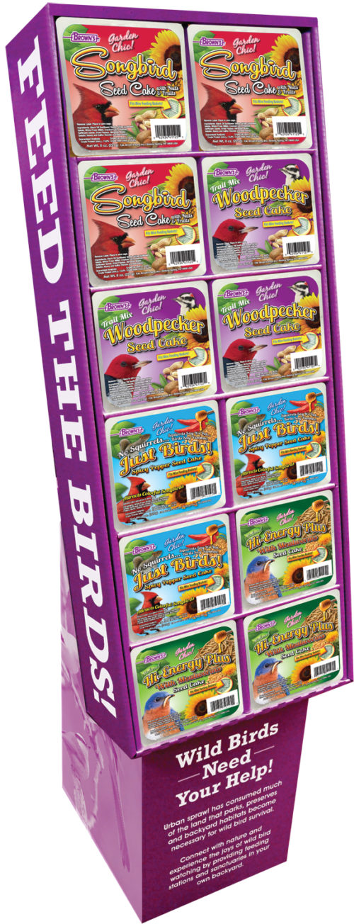 Garden Chic!® Seed Cake Display (4 Flavors)-0