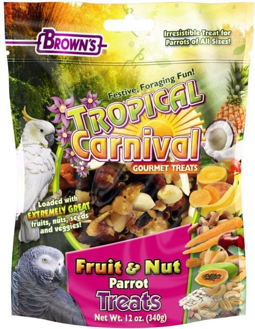 Tropical Carnival® Fruit & Nut Parrot Treat-0
