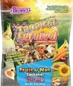 Tropical Carnival® Fruit & Nut Cockatiel, Conure & Lovebird Treat-0