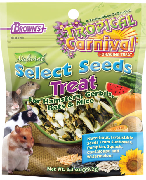 Tropical Carnival® Natural Select Seeds Treat-0