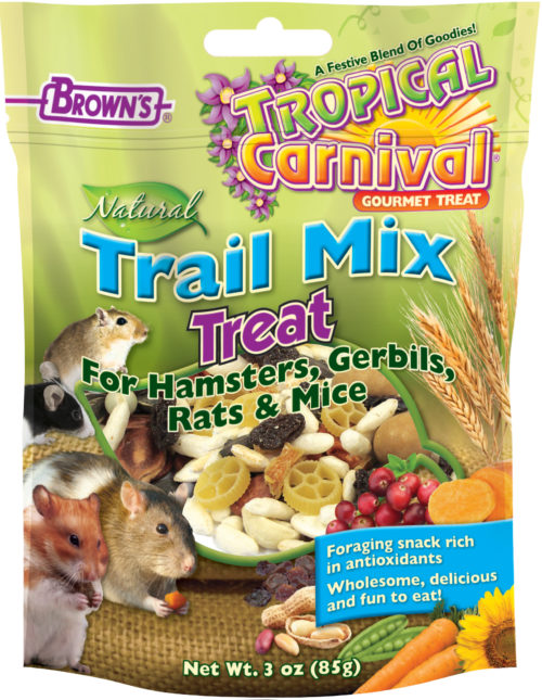 Tropical Carnival® Natural Trail Mix Hamster Treat-0
