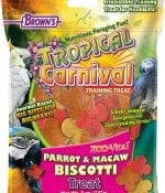 Tropical Carnival® Zoo-Vital® Parrot & Macaw Biscotti Treat-0