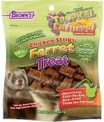 Tropical Carnival® Natural Chicken Strips Ferret Treat-0