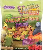 Tropical Carnival® Natural Baked Crisps for Pet Birds-0