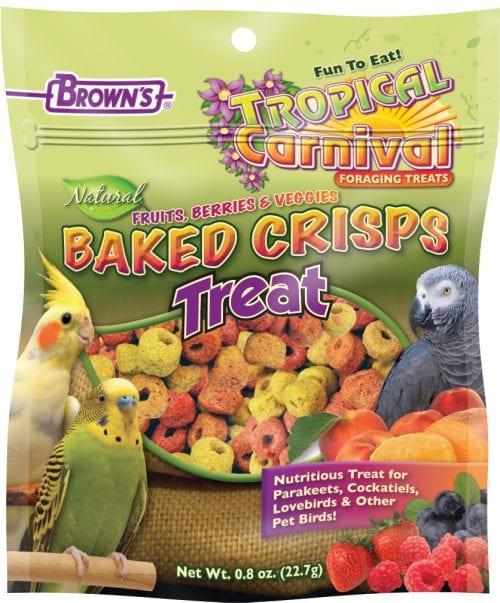 Tropical Carnival® Natural Baked Crisps for Pet Birds-0