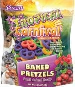 Tropical Carnival® Baked Pretzels Small Animal Treats -0
