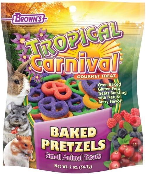 Tropical Carnival® Baked Pretzels Small Animal Treats -0