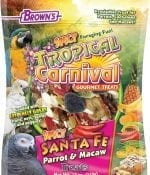 Tropical Carnival® Spicy Santa Fe™ Parrot Treat-0