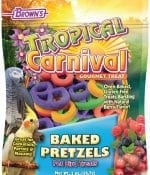 Tropical Carnival® Baked Pretzels Pet Bird Treats-0