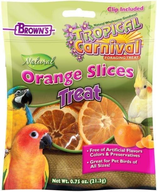 Tropical Carnival® Natural Orange Slices Pet Bird Treats-0