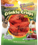 Tropical Carnival® Crinkle Crisps® with Fruit Gluten Free Small Animal Treat-0