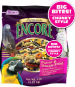 Encore® Premium Big Bites! Chunky Style Parrot & Macaw Food-0