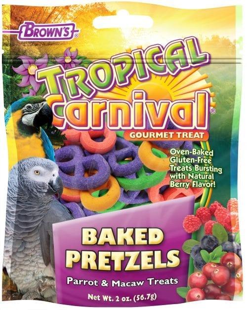 Tropical Carnival® Baked Pretzels Pet Bird Treats-1361