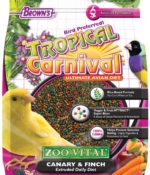 Tropical Carnival® ZOO•VITAL® Rice-Based Canary & Finch Pellets-0