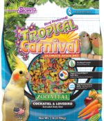 Tropical Carnival® ZOO•VITAL® Rice-Based Cockatiel & Lovebird Pellets-0