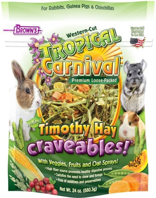 Tropical Carnival® Natural Timothy Hay Craveables!® -0