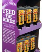 18 pc. Garden Chic!® Wild Bird Feeder Shipper Display-0