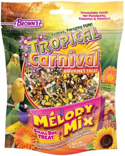Tropical Carnival® Melody Mix™ Small Bird Treat-0
