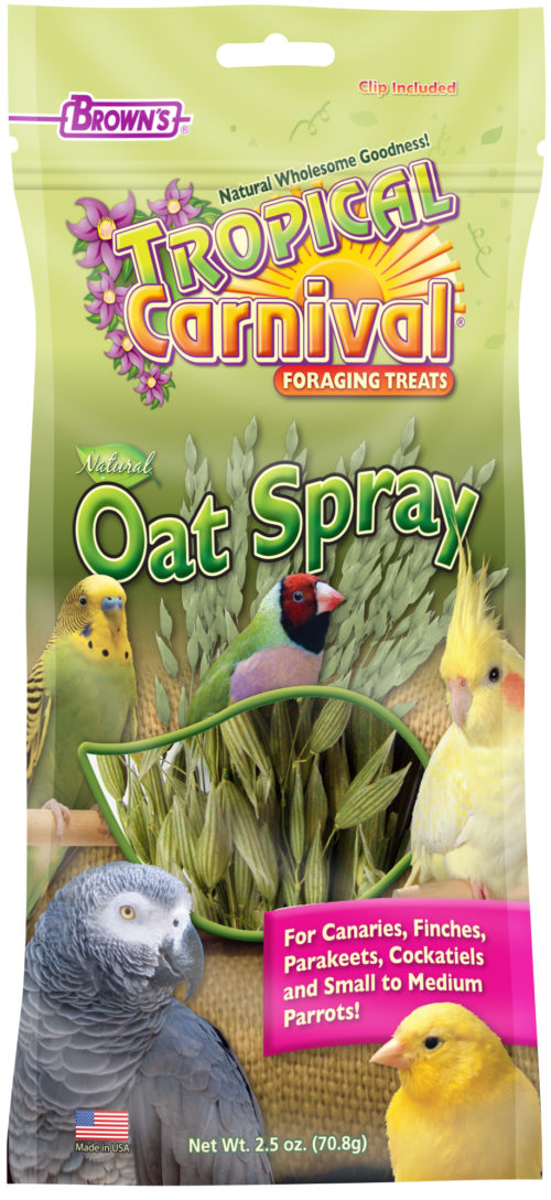 Tropical Carnival® Natural Oat Spray For Pet Birds-0