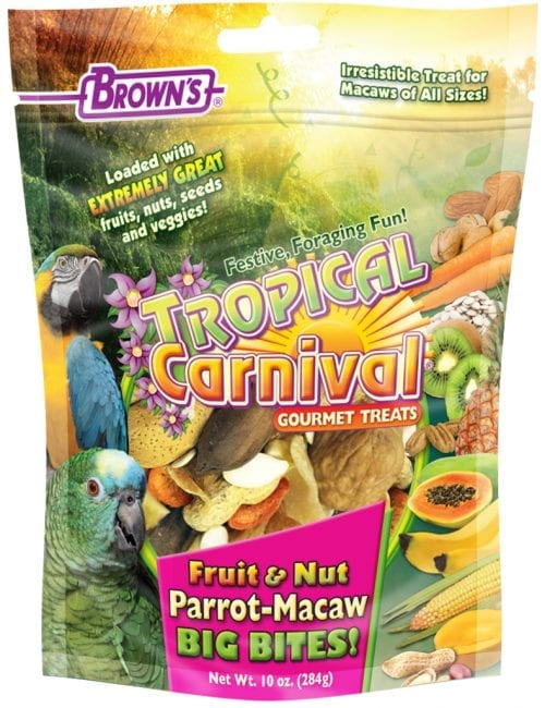 Tropical Carnival® Fruit & Nut Parrot-Macaw Big Bites!-0