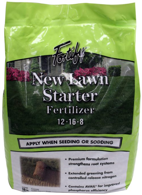 Fortify New Lawn Starter 12-16-8-0