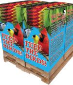 200 pc. - 3.5 lb. Song Blend® Cherry Scented Dark Oil Sunflower Seeds Quad Bin-0