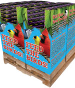 168 pc. - 10 lb. Song Blend® Nyjer® (Thistle Seed) Quad Bin-0