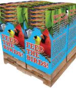 156 pc. - 7 lb. Bird Lover's Blend® Cardinal Buffet Quad Bin-0