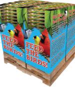 280 pc. - 5 lb. Bird Lover's Blend® Extreme!™ Trail Mix Quad Bin-0