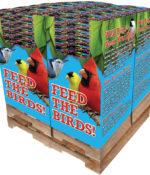 240 pc. - 5 lb. Bird Lover's Blend® Nut, Fruit & Berry Quad Bin-0