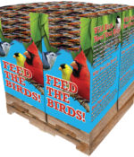 240 pc. - 5 lb. Bird Lover's Blend® Hi-Energy Plus!™ with Mealworms Quad Bin-0