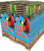 240 pc. - 5 lb. Bird Lover's Blend® Fancy Finch Quad Bin-0