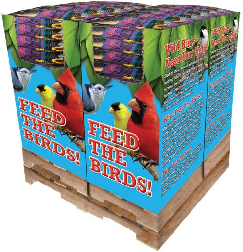 100 pc. - 20 lb. Song Blend® Supreme Buffet Quad Bin-0