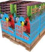 200 pc. - 7 lb. Bird Lover's Blend® Gourmet Songbird Quad Bin-0