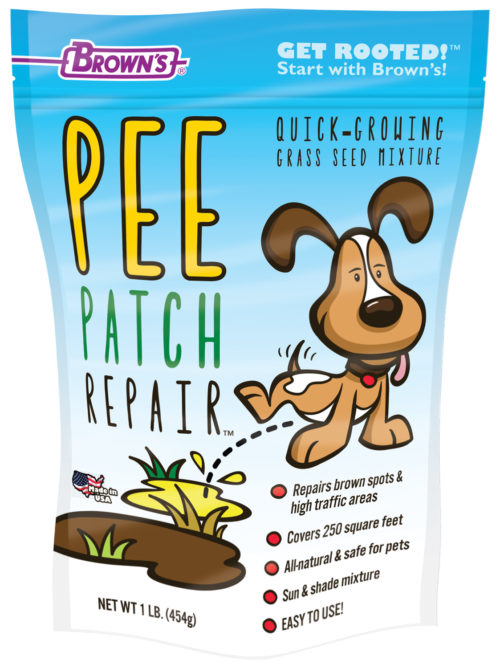 Brown's® Pee Patch Repair™ Quick-Growing Grass Seed Mixture-0