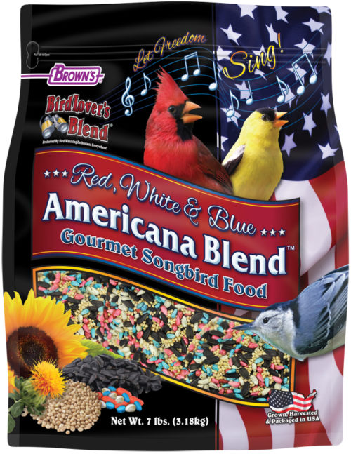 7 lb. Bird Lover's Blend® Red, White & Blue Americana Blend™ Gourmet Songbird Food-0