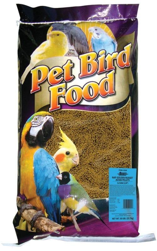 50 lb. NAP Golden Nugget Avian Pellets-2358