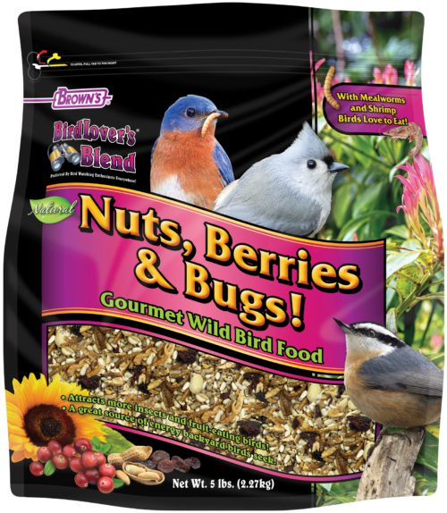 5 lb. Bird Lover's Blend® Nuts, Berries & Bugs!-0