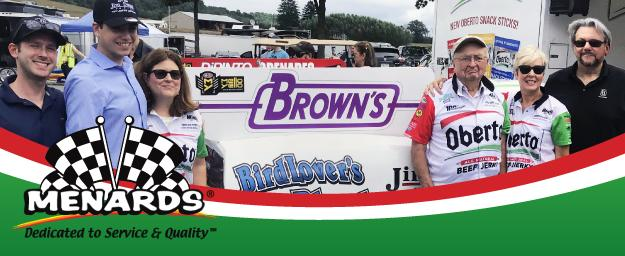 Brown's® Partners with Menards®!